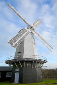 Shipley Windmill.  Photo taken by Adrian G Pop and used hear by kind permission.
