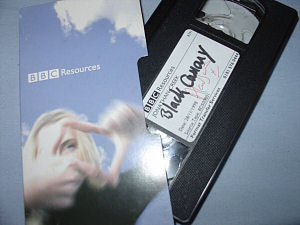 An image of the 1998 Christmas special - The Black Canary - tape on auction at the moment