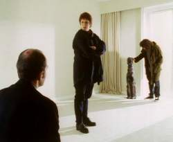 Jonathan and Maddy investigate the white room