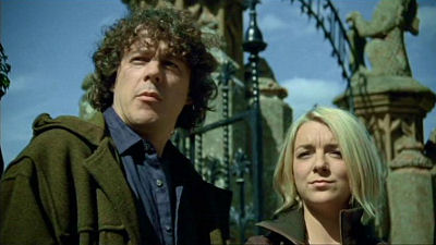 Jonathan Creek and Joey Ross