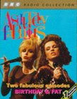 Cover of the audio version of Absolutely Fabulous Audio tape of two episodes