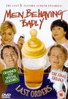 The cover of the men behaving badly last orders DVD