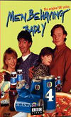 The cover of the Men Behaving Badly Season 4 DVD