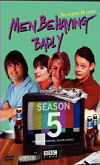 The cover of the Men Behaving Badly Season 5 DVD