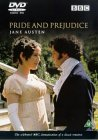 The cover of Pride and Predjudice DVD